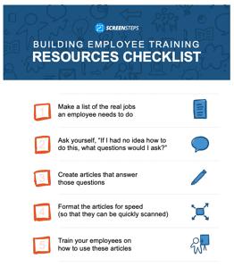 Checklist-Training-Resources